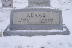 Iona <I>Ball</I> Adams