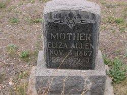 Eliza <I>Marlar</I> Allen