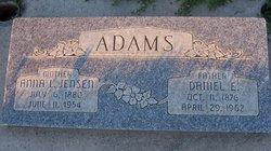 "Anna Louise ""Annie"" <I>Jensen</I> Adams"
