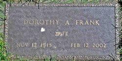Dorothy A. <I>Nuss</I> Frank