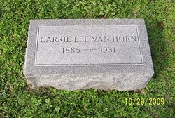 Carrie Lee Van Horn
