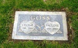 Cecil F Goss