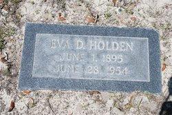 Eva June <I>Dobson</I> Holden