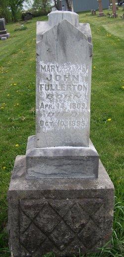 Mary Jane <I>Dougherty</I> Fullerton