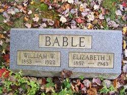 Elizabeth Jane <I>McCombs</I> Bable