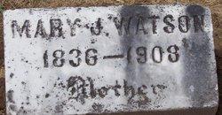 Mary Jane <I>Lundy</I> Hibdon-Watson