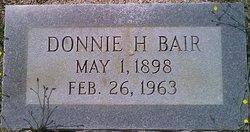 Donnie H Bair Jr.