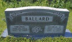 Virginia Maud <I>Johnson</I> Ballard