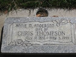 Annie Marie <I>Anderson</I> Thompson