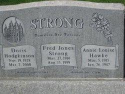Annie Louise <I>Hawke</I> Strong