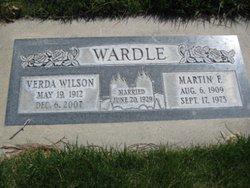 Martin Francis Wardle