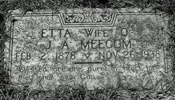 Sarah Isetta <I>Wright</I> Meecom