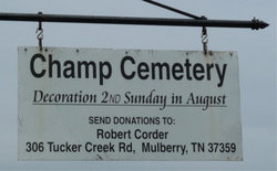 Champ Cemetery