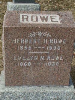 Evelyn Maria <I>Peterson</I> Rowe