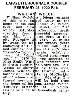 William Welch