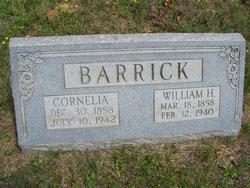 William H Barrick