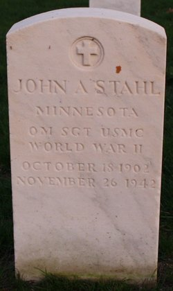 SGT John A Stahl