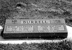 Mary <I>Pulsipher</I> Burrell