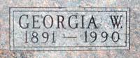Georgia W. Harris