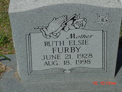 Ruth Elsie Long Furby (1928-1998) - Find A Grave Memorial
