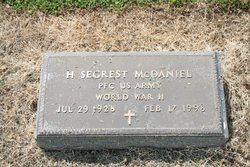 H Segrest McDaniel