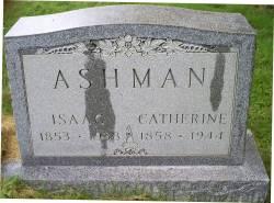 Catherine <I>Johnson</I> Ashman