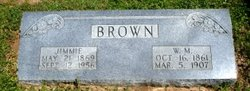 Mrs Jimmie <I>Coursey</I> Brown