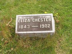 """Elisabetha """"Eliza"""" <I>Graef</I> Chester"""