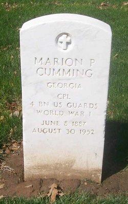 Marion P Cumming