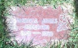 Isabelle Vilda <I>Jones</I> Anderson