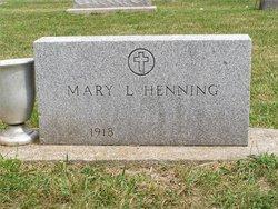Mary Lorraine <I>Melody</I> Henning