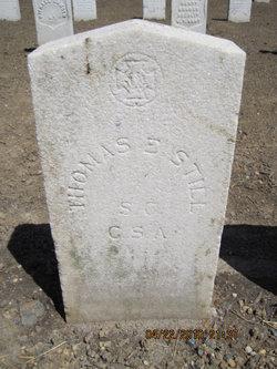 Pvt Thomas E Still