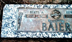 Beryl Arlene <I>Barker</I> Baier