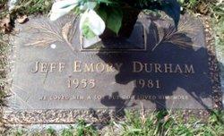 Jeff Emory Durham