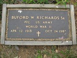 """Buford Walter """"Otis"""" Richards, Sr"""