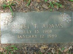 Mabel T <I>Appleby</I> Adams