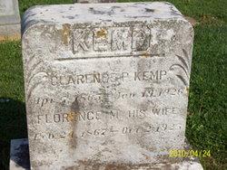 Clarence P Kemp