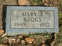 Mary Jane <I>Black</I> Baggs