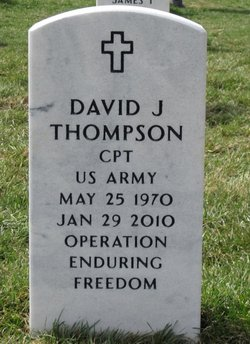 "CPT David J ""JP"" Thompson"