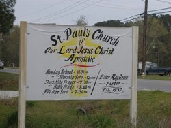 Saint Pauls Church of Our Lord Jesus Christ Apost