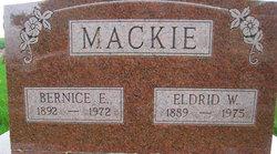 Bernice Ellen <I>Cook</I> Mackie