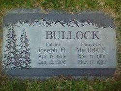 Joseph Henry Bullock
