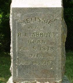 "Melissa I. ""Melissie"" <I>Lawrence</I> Abbott"