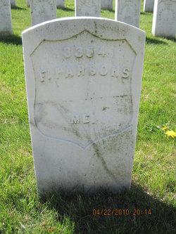 Pvt F. Parsons