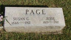 Susan Catherine <I>Creager</I> Page