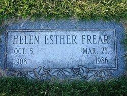 Helen Esther <I>Barngrover</I> Frear