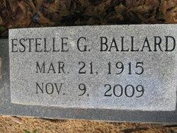 Clara Estelle <I>Garrard</I> Ballard