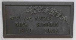 "Geneva Caroline ""Neva"" <I>Gibson</I> Dorsa-Simpson"