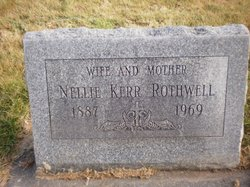 Eleanor Kerr Nellie Rothwell