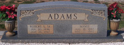Mamie <I>Wiley</I> Adams